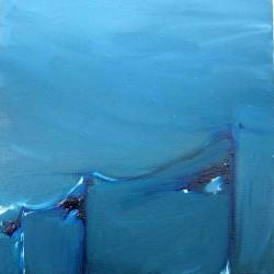 LampadairesLinge-20X20 cm- Huile sur toile- 2004
