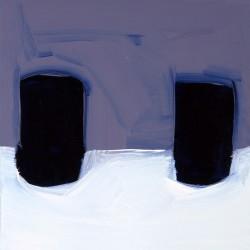 Les invités-diptyque- 40X40 cm- Huile sur toile- 2006