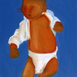 Thaïs-Quadriptyque-50X60 cm- Huile sur toile- 2005